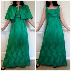 1960s evening gown and bolero